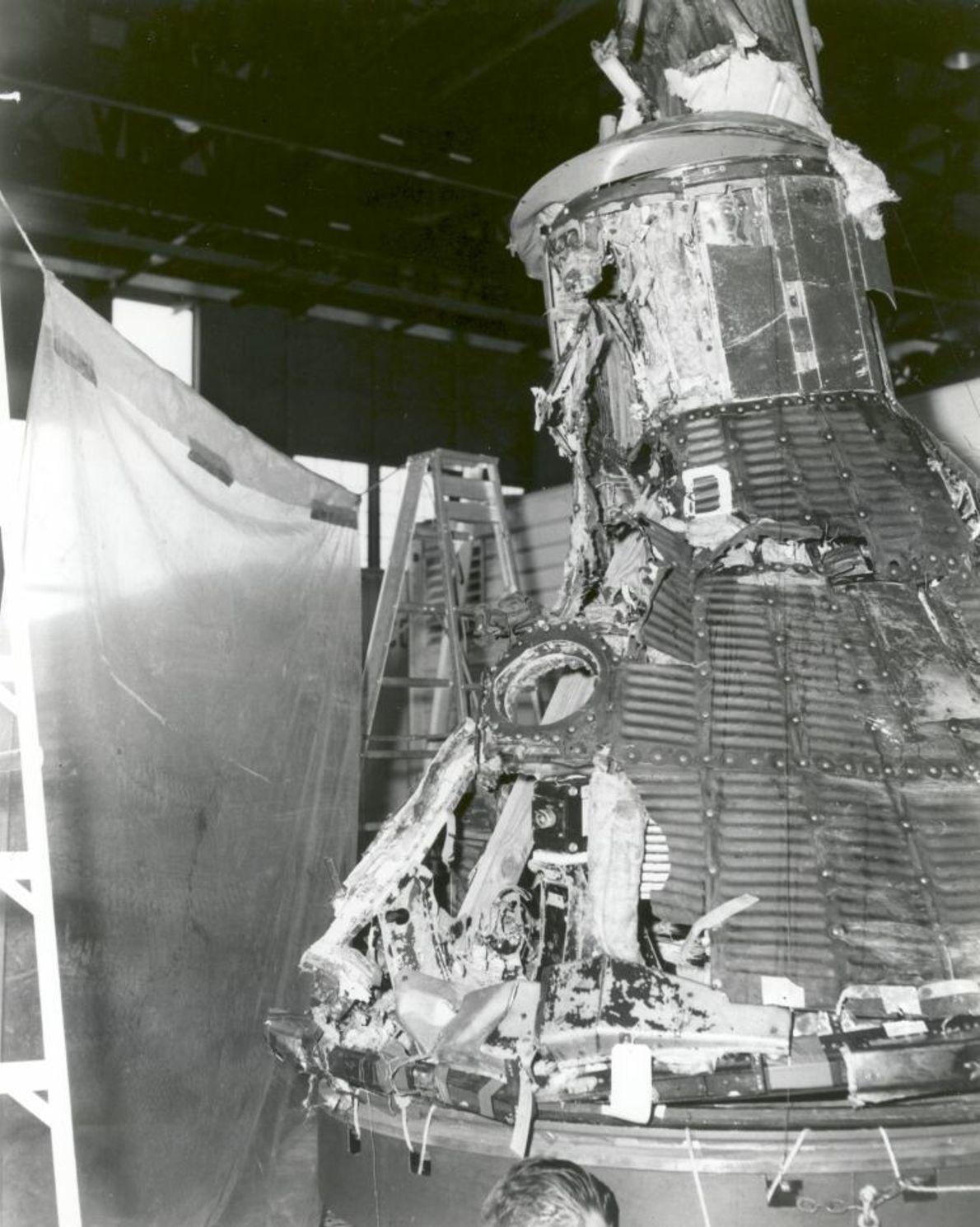 Der erste Mercury-Flug war kein Erfolg, aber sein Scheitern führte immerhin zu Verbesserungen im Design. Es ...
