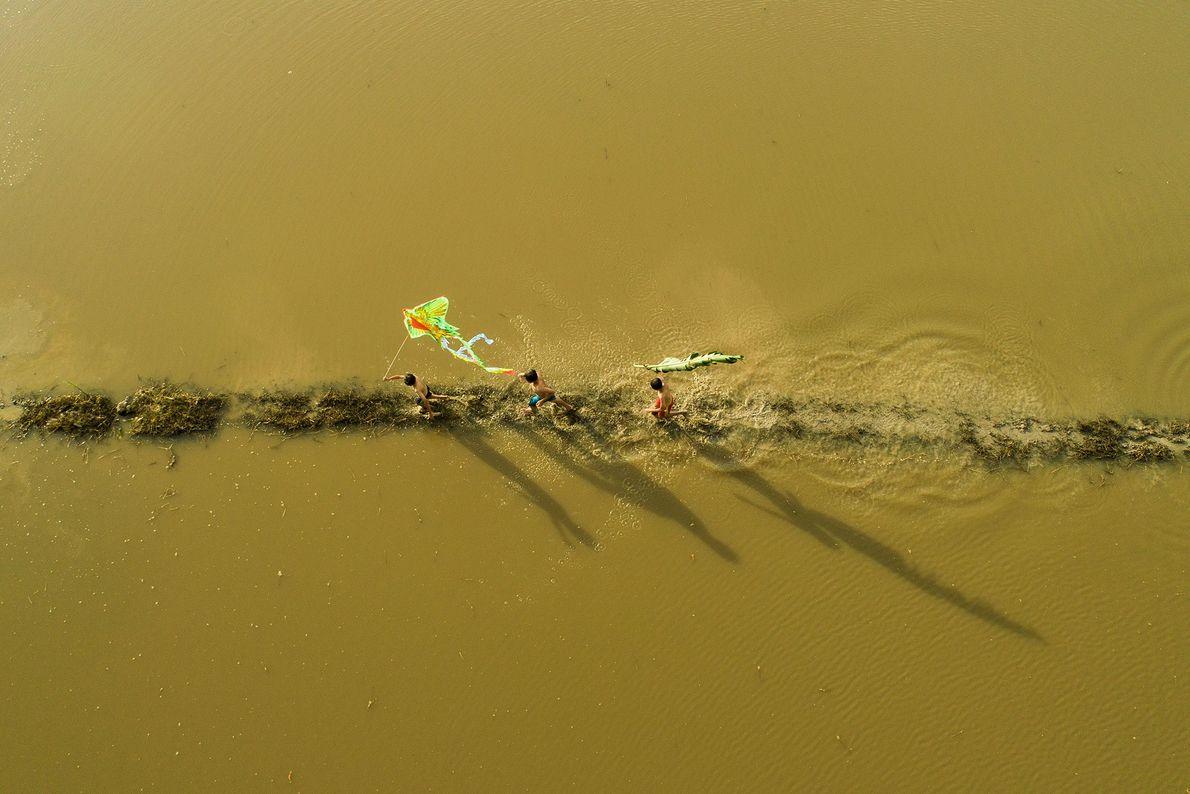 Regenzeit im Mekongdelta