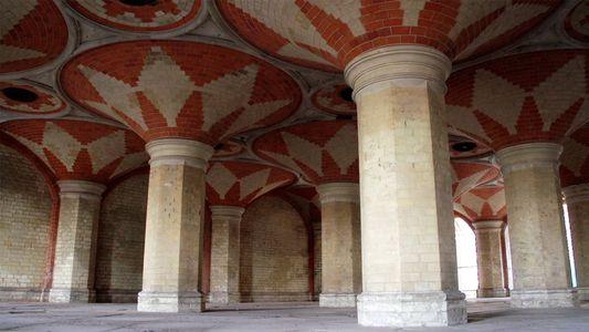 Seltene Einblicke in die geheime Passage zum ehemaligen Crystal Palace in London