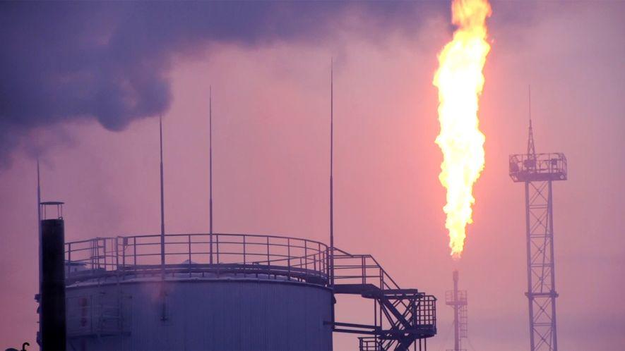 Beeindruckende Aufnahmen: Die Öl- und Kohlefelder im hohen Norden