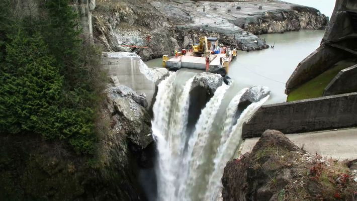 Nach dem größten Dammabbruch in der US-Geschichte blüht dieser Fluss auf