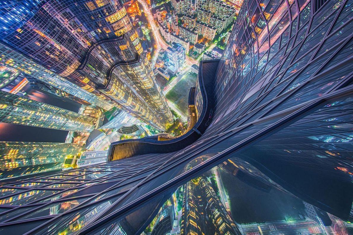 Höchste Wohnhaus in Asien