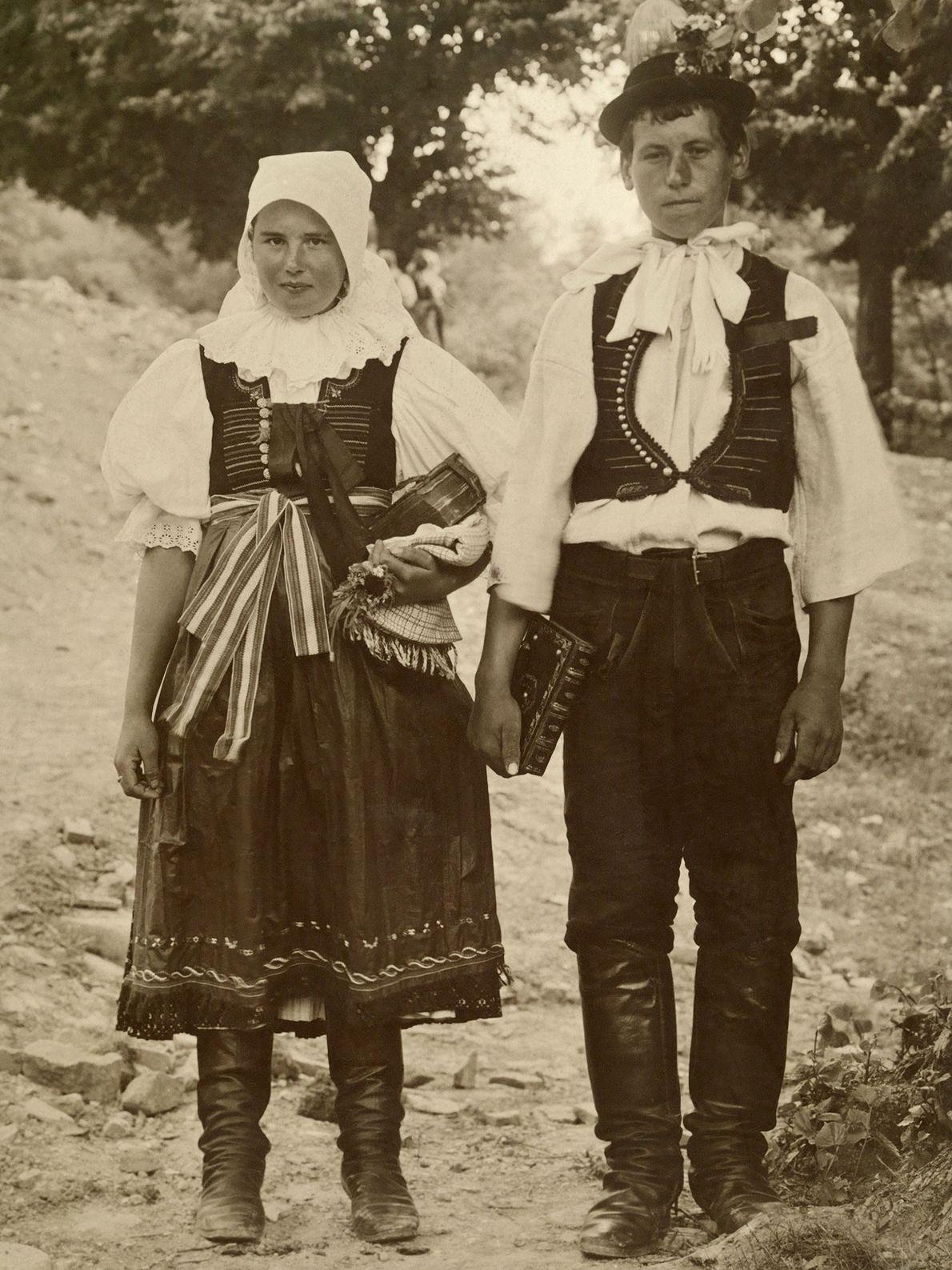 Slowakisches Brautpaar