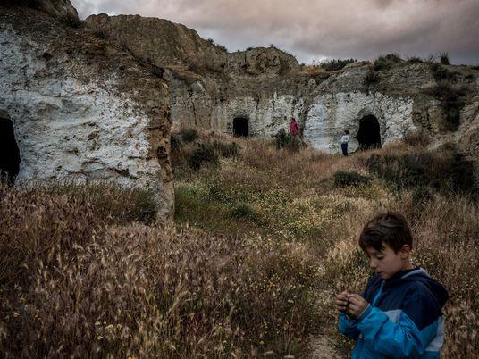 Das Leben in Spaniens alten Höhlen