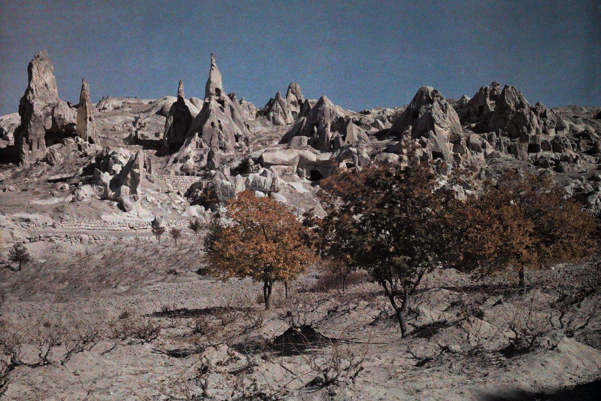 Höhlen in Kappadokien