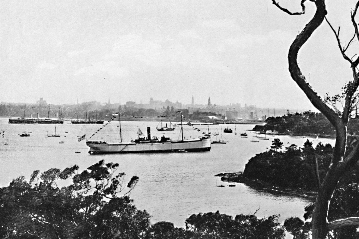 Aborigines hatten bereits Zehntausende Jahre auf dem Gebiet des heutigen Sydney gelebt, als es 1788 zu ...