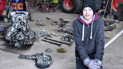 Junge in Dänemark entdeckt abgestürztes deutsches Flugzeug aus dem Zweiten Weltkrieg