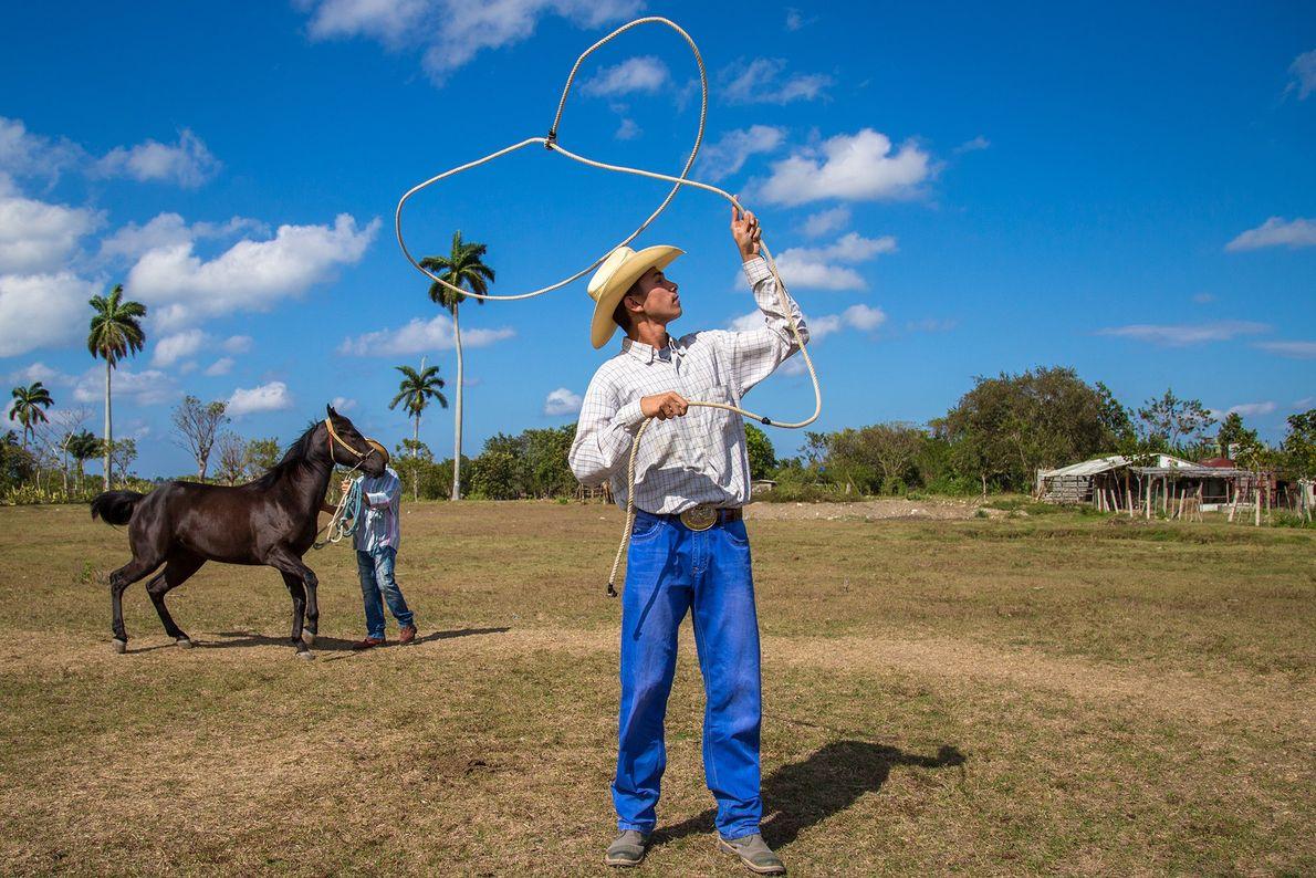 Ein Cowboy auf Kuba