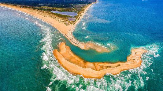 Neue Insel taucht vor der Küste der USA auf