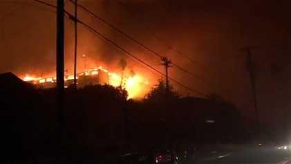 Tödliche Waldbrände in Kalifornien