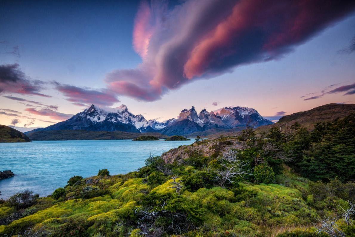Die Anden beim Torres-Del-Paine-Nationalpark