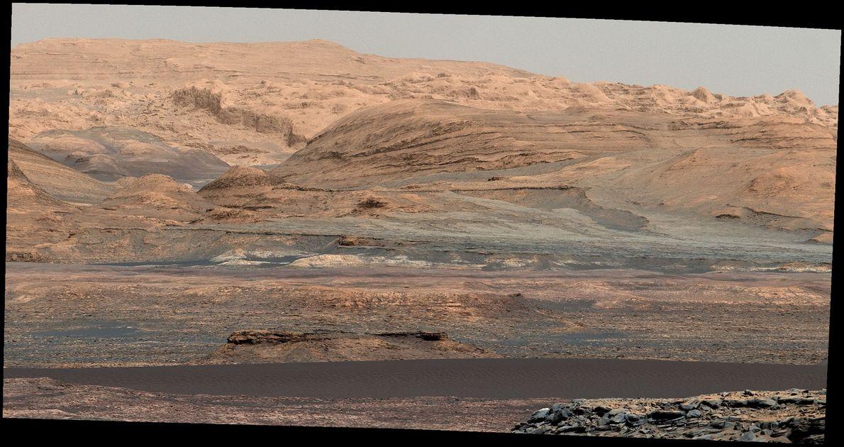 Bagnold-Dünen im Gale-Krater