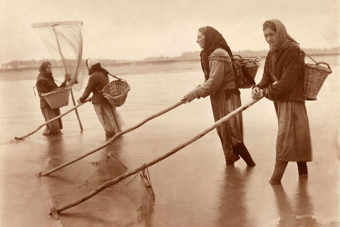 Frauen in der Normandie