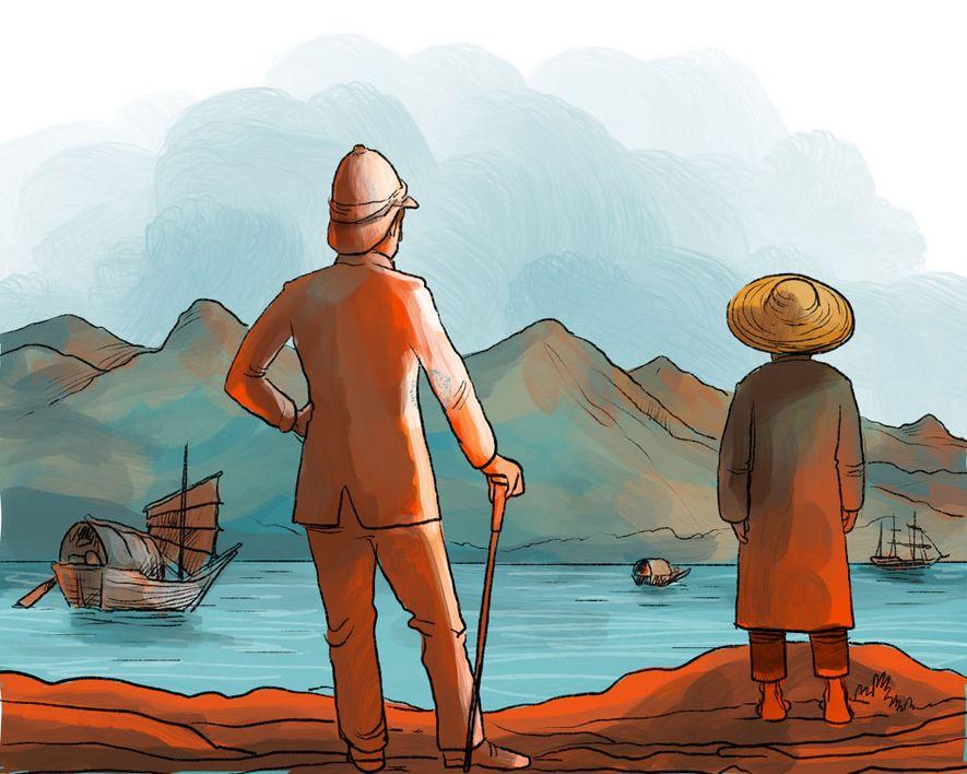1898: Großbritannien pachtet die Neuen Territorien für 99 Jahre. Einwanderer vom Festland strömen in großen Wellen ...