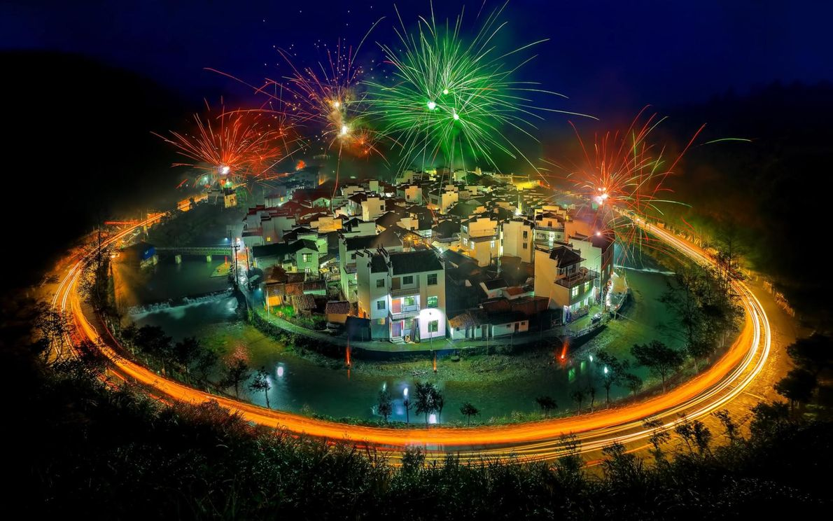 Jujing, das rundeste Dorf Chinas