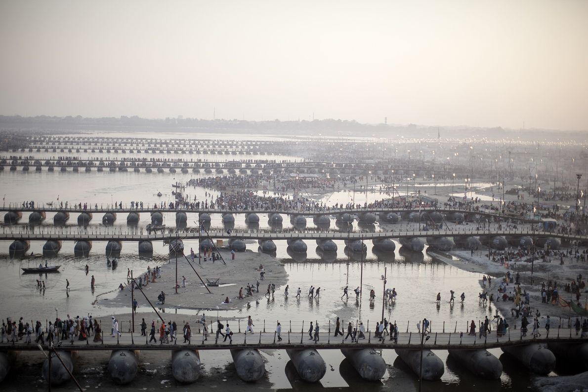 Ganges am Morgen