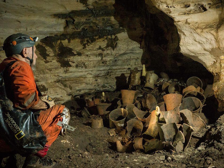 Exklusiv: In der Höhle des Jaguargottes der Maya