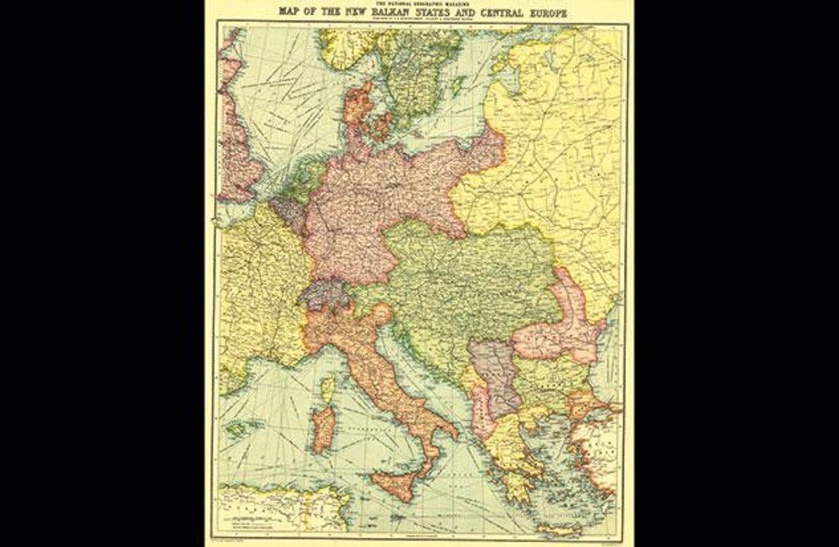 1914 - Balkan und Mitteleuropa