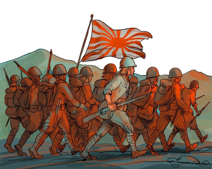 1941-1945: Japan marschiert in Hongkong ein und besetzt das Gebiet. Während der Besatzung schrumpft Hongkongs Einwohnerzahl ...