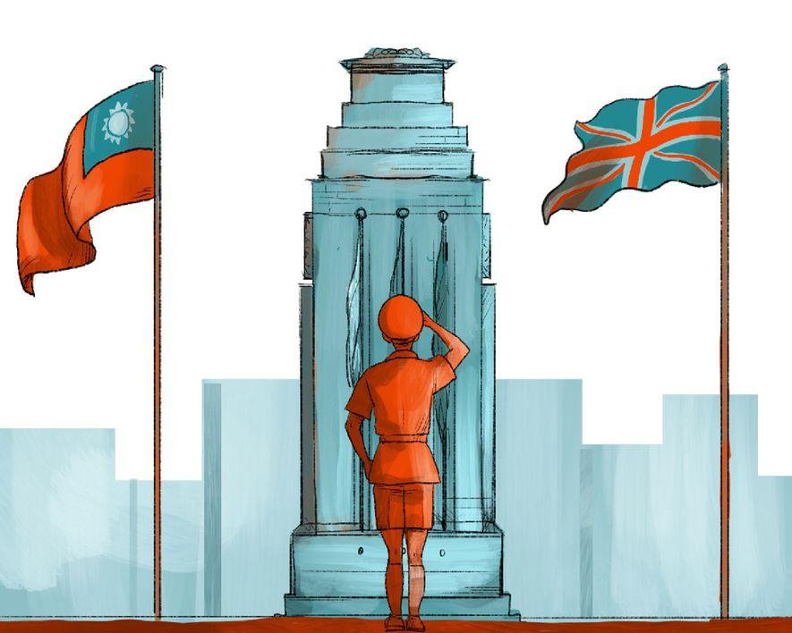 1946: Großbritannien gewinnt die Kontrolle über die Zivilregierung wieder.