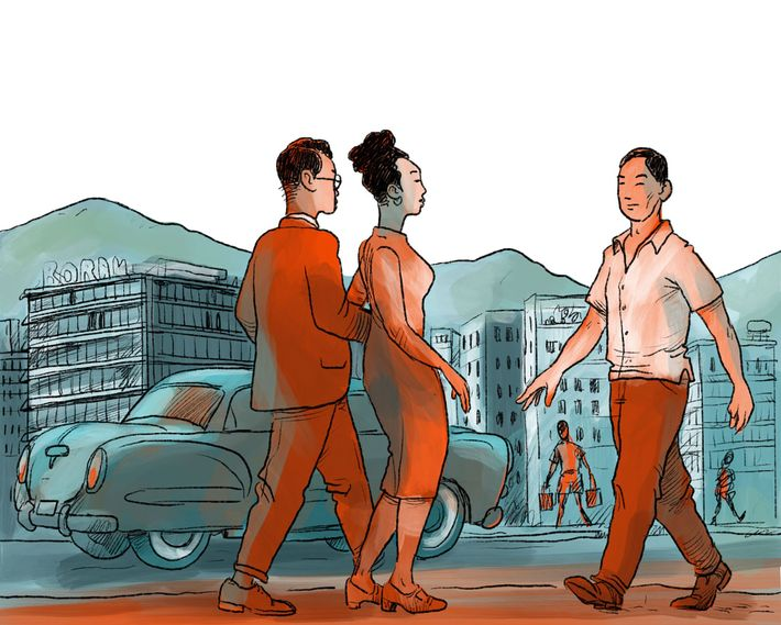 Hongkongs Geschichte 1950s
