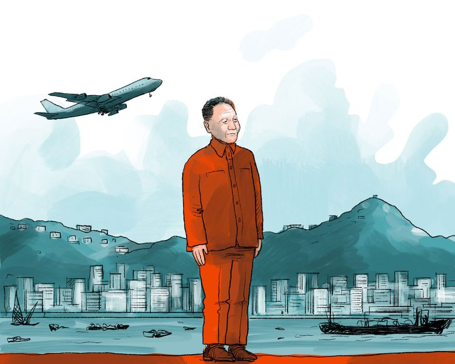 """1970ER: Hongkong wird ein """"Asiatischer Tiger"""" – ein internationales Finanzzentrum. Mao Zedong wird von dem moderateren ..."""