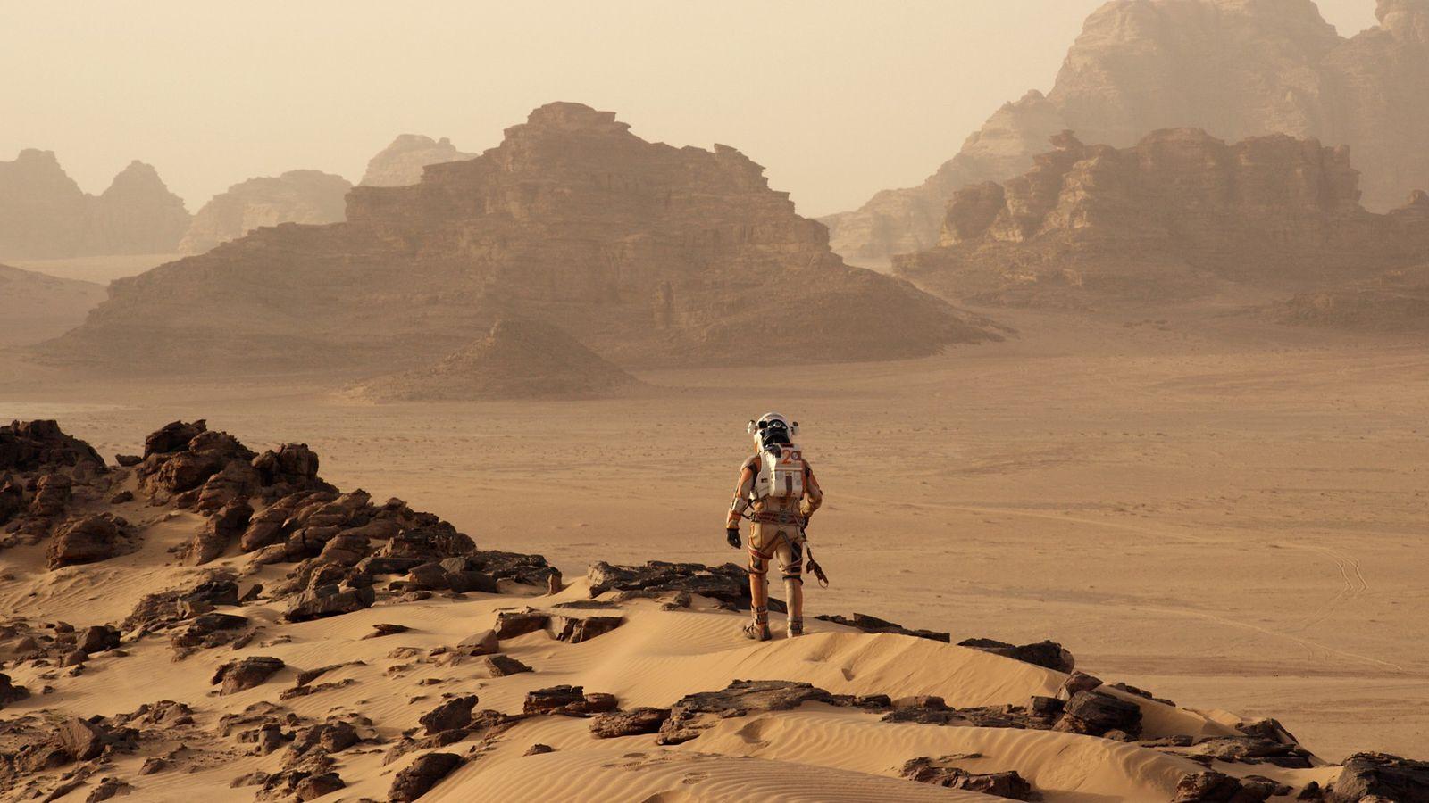 Den Mars verlassen