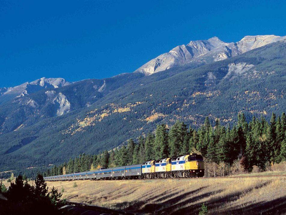 Mit dem Zug durch Kanada