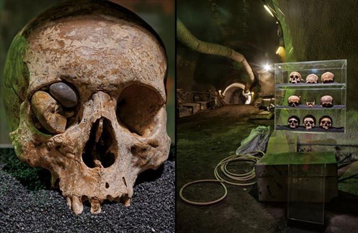 Nahe der Liverpool Street Station fanden Archäologen diese Schädel aus der Römerzeit. Sie wurden vor rund …