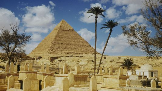 Galerie: Mysteriöser Hohlraum in Cheops-Pyramide gibt Rätsel auf