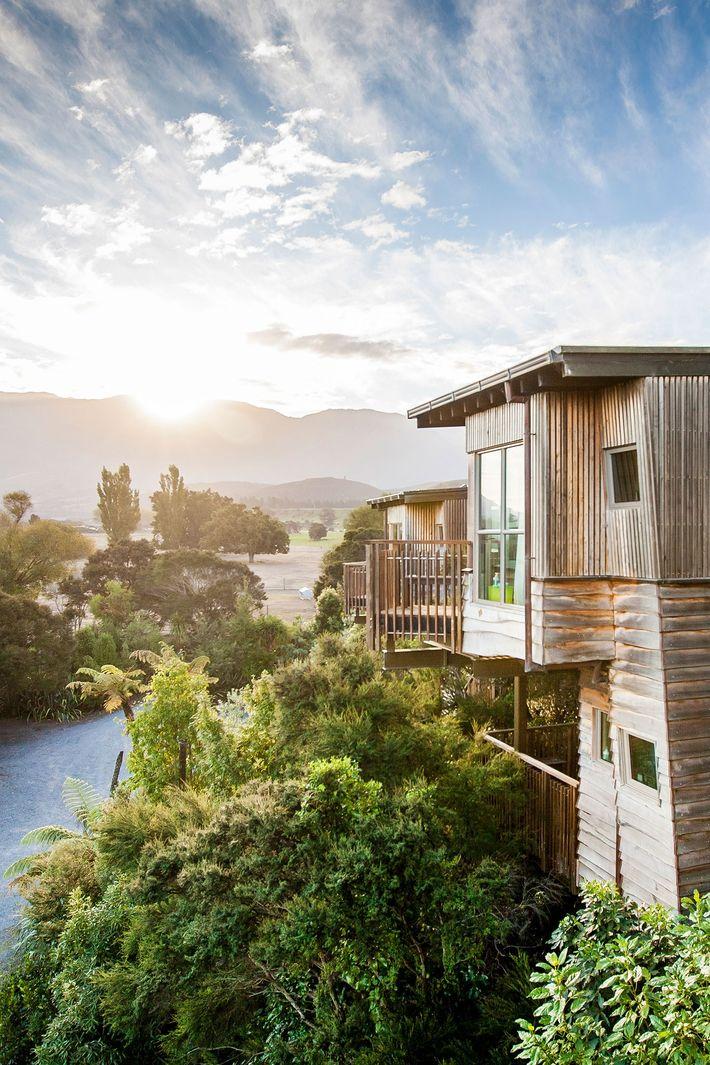Hapuku Lodge in Kaikoura, Neuseeland