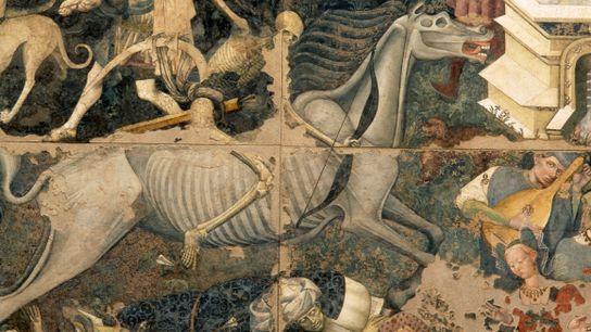 Italienisches Fresko - Triumph des Todes