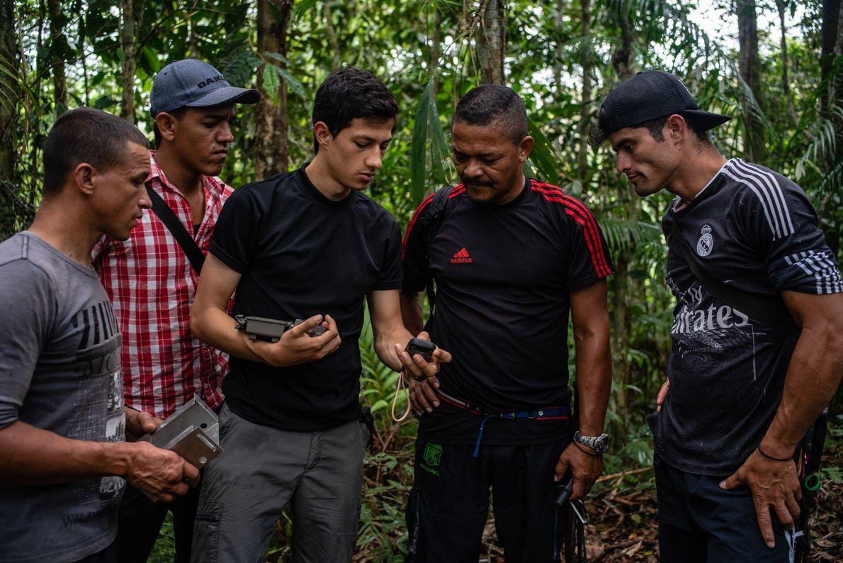 Die Forscher hoffen, dass die Region erforscht und geschützt werden kann, bevor der Bergbau und die ...