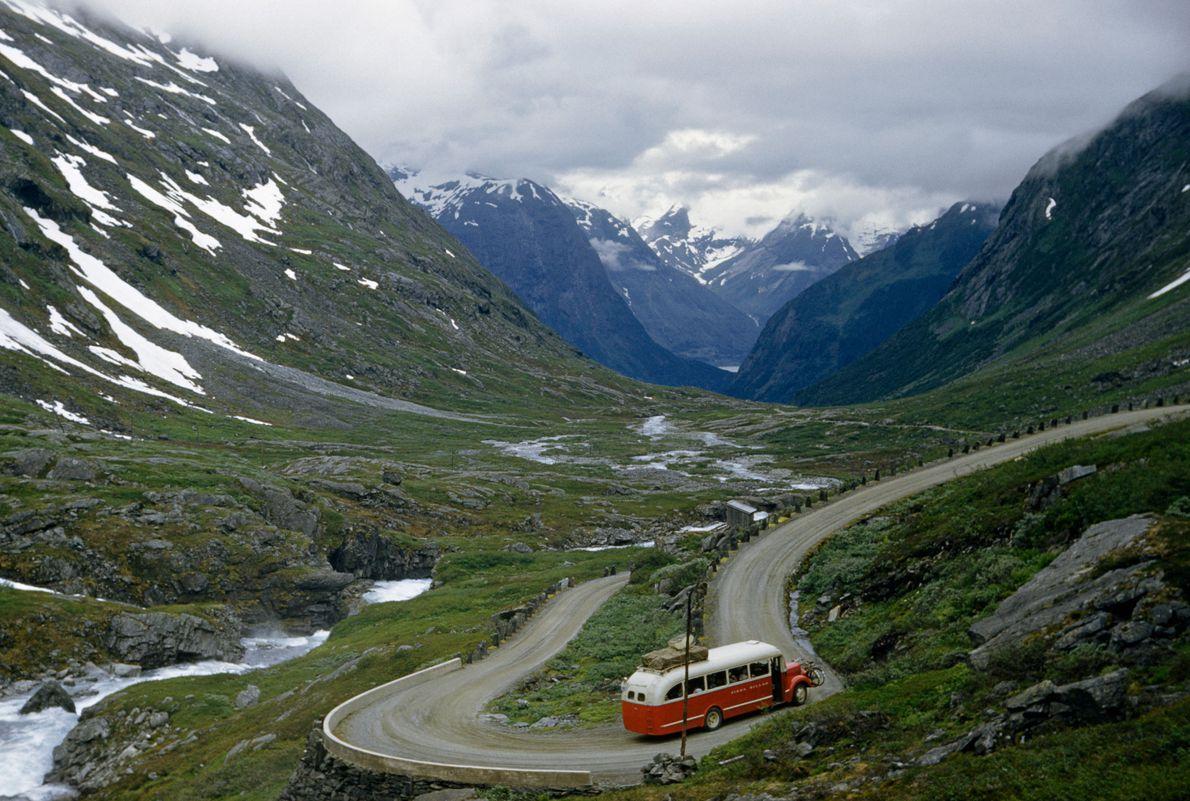 Hjelle Valley, Norway: 1957