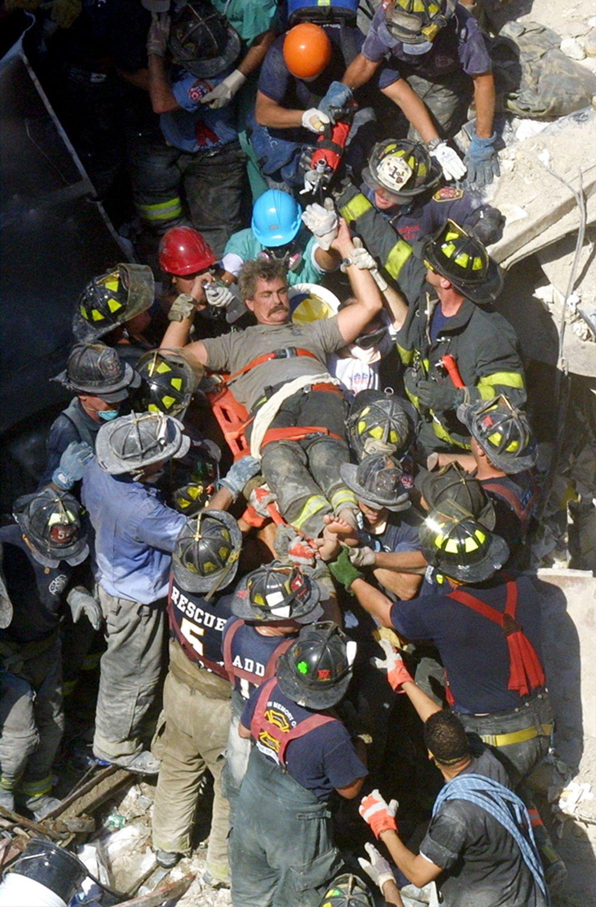 9/11-Rettungshelfer