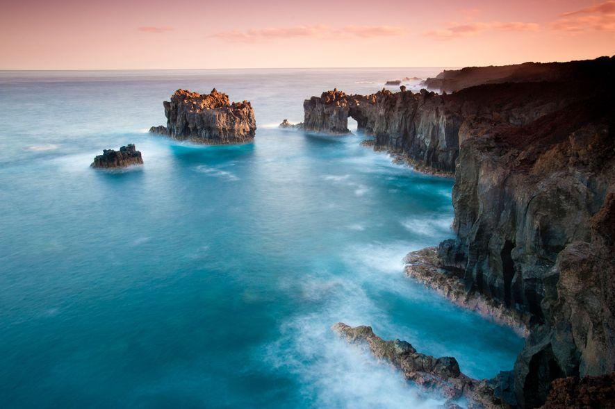 El Hierro, eine der kanarischen Inseln Spaniens, galt einst als der westlichste Punkt der bekannten Welt.