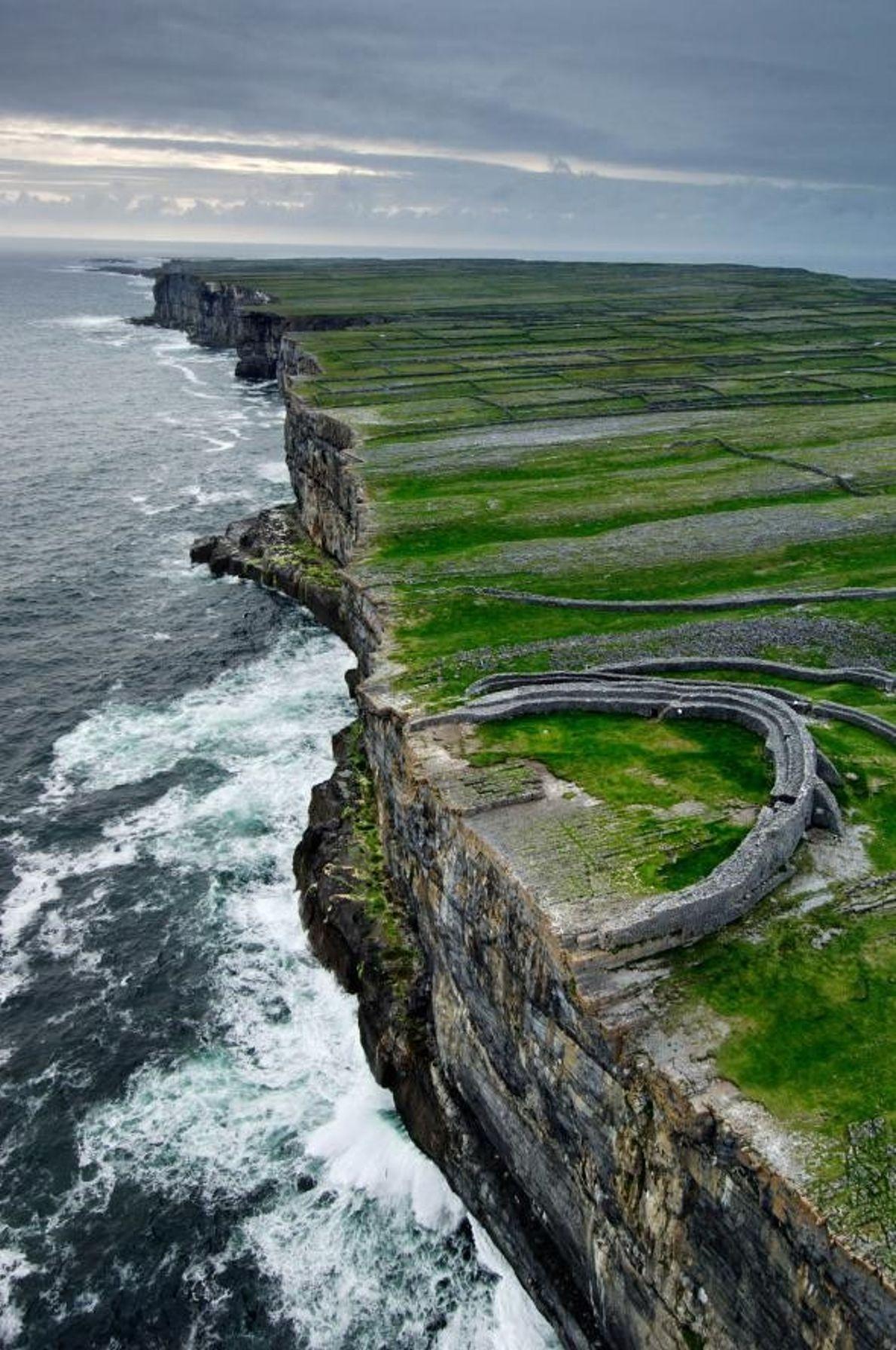 Fort von Dún Aonghasa