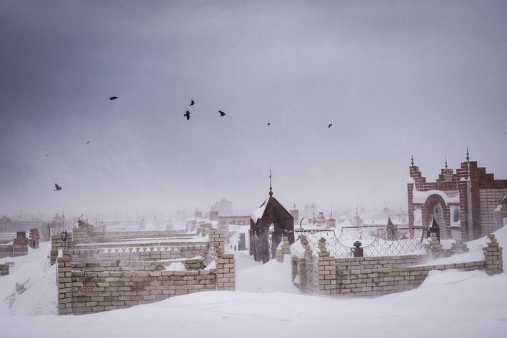 winterlicher Sturm