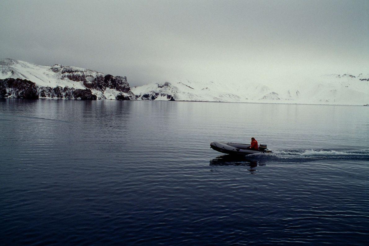 Boot mit Passagier