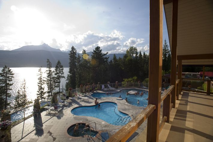 Bei einem Ausflug in die Rocky Mountains sollte ein Besuch in einem Thermalbad nicht fehlen. Im ...