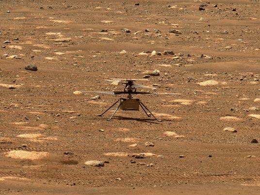 April-Highlight: Der erste Hubschrauberflug auf dem Mars