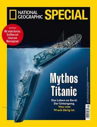 "NATIONAL GEOGRAPHIC Special ""Mythos Titanic"""