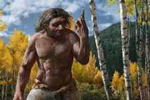 Eine Rekonstruktion des Drachenmenschen, der vor mehr als 146.000 Jahren im kühlen Nordosten Chinas lebte.