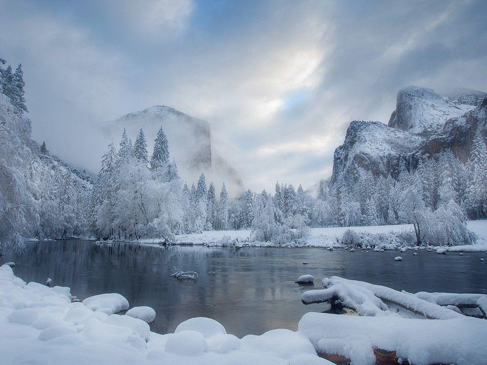 Die Welt im Winter
