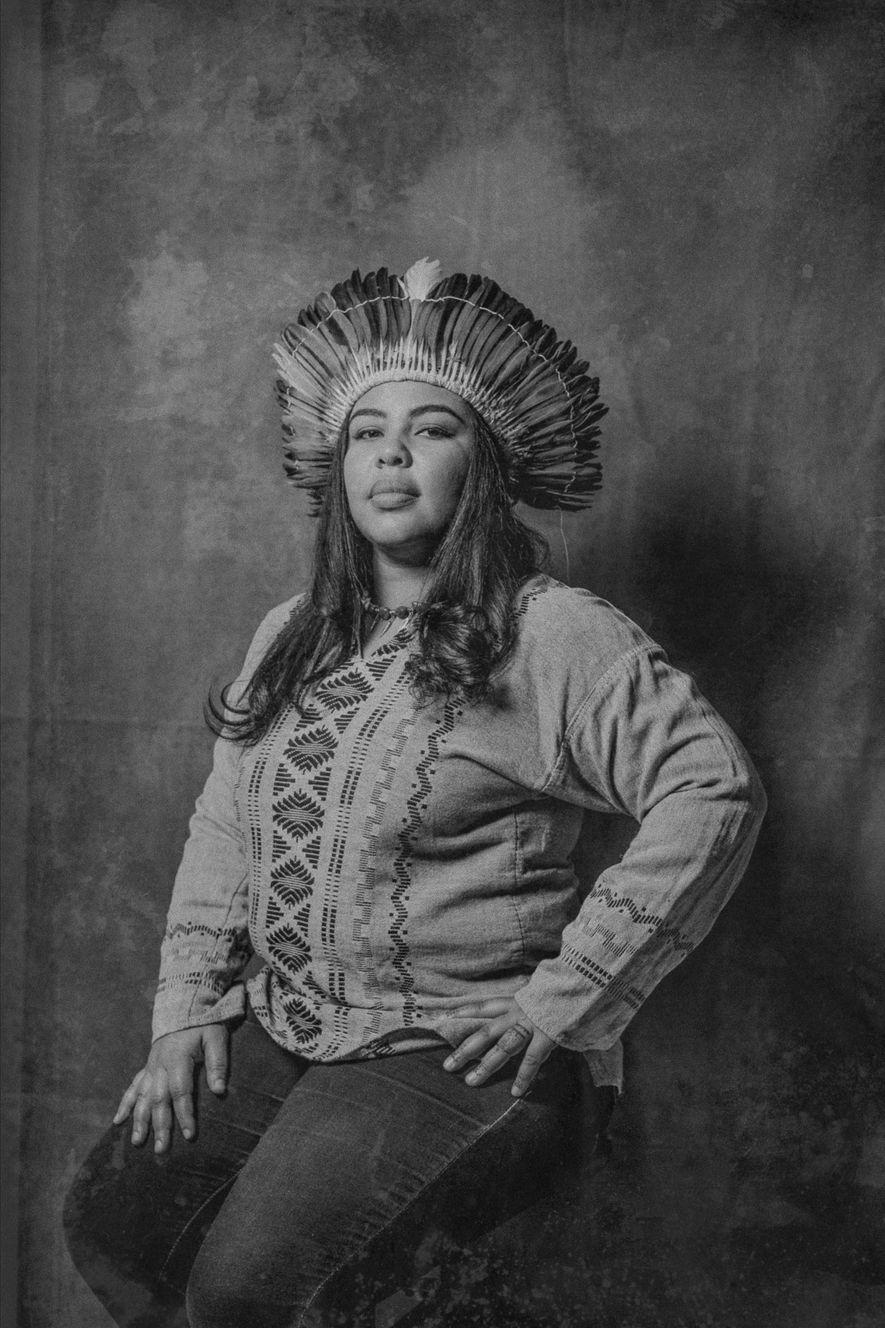 """MERCEDES GARCIA, 36  """"Als Kind hat mir meine Großmutter immer wieder gesagt, dass ich Taíno bin ..."""