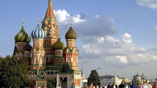 Moskau ist eine Stadt der Kathedralen und Paläste