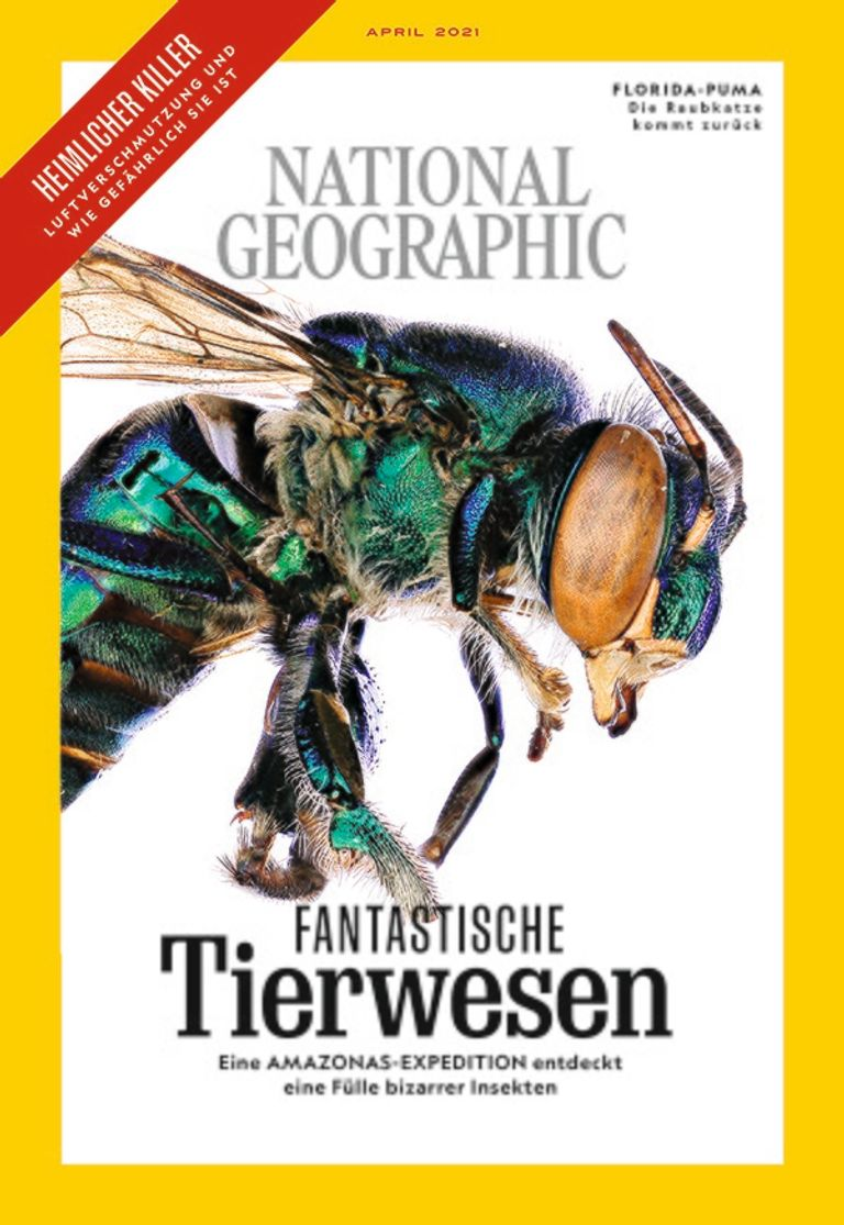 National Geographic Magazin April 2021