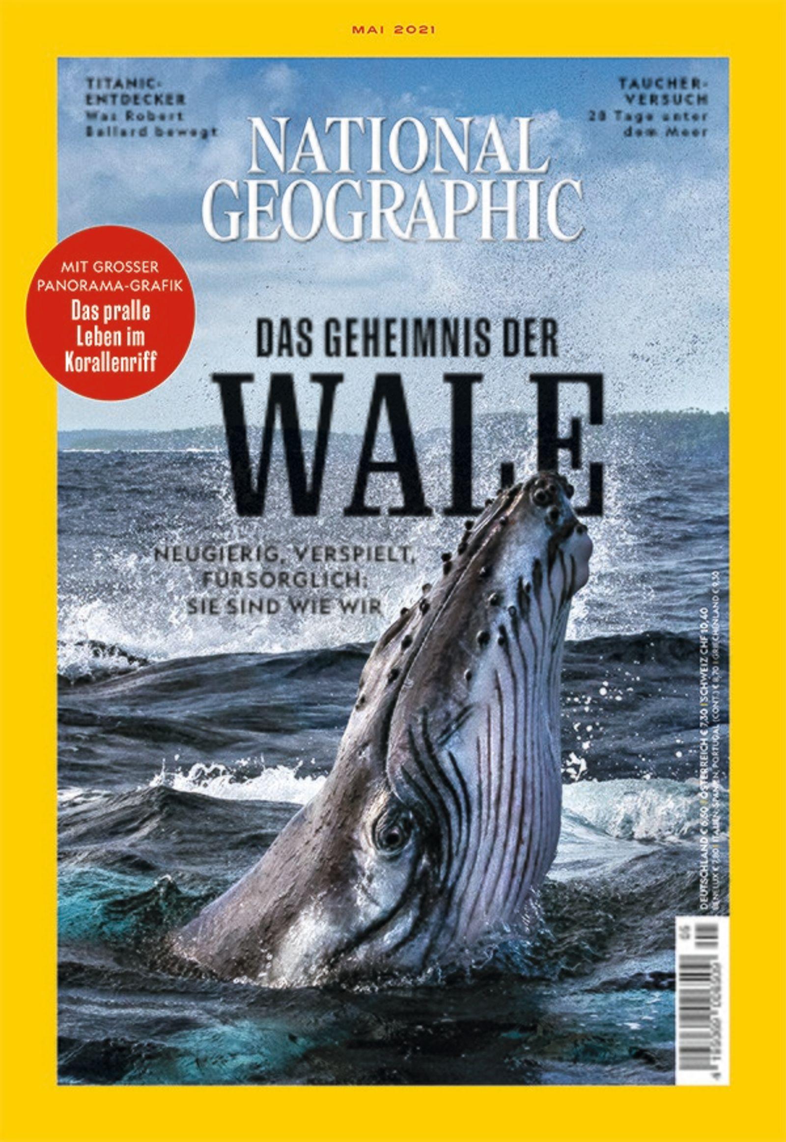 National Geographic Magazin 05/2021