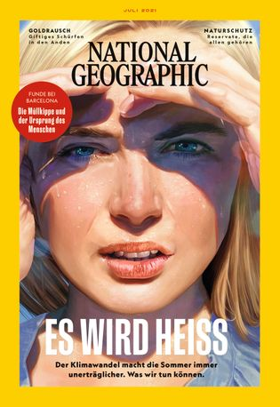 Cover National Geographic Juli 2021