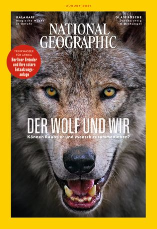 National Geographic 08/2021 Cover